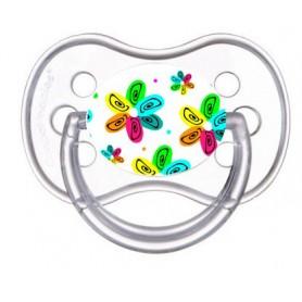 Tétine de bébé fleur multicolors 2