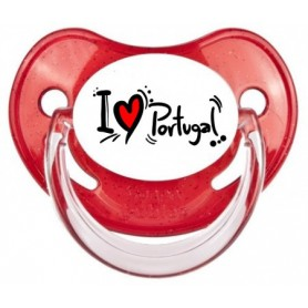 Tétine personnalisée I love Portugal