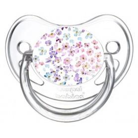 Tétine de bébé florale