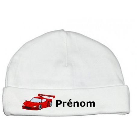Bonnet personnalisé voiture prénom