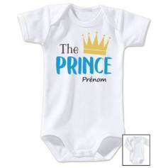 Body personnalisé The Prince prénom