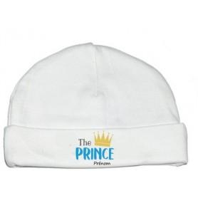 Bonnet personnalisé The Prince prénom