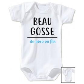 Body bébé Beau gosse de père en fils