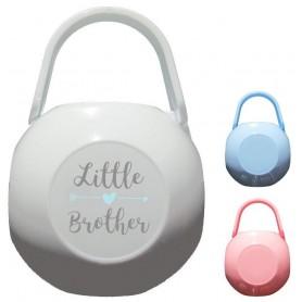 Boîte à tétine personnalisée Little brother
