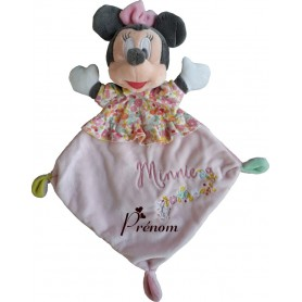 Doudou Minnie robe personnalisé