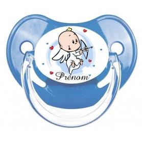 Tétine de bébé personnalisée ange et prénom