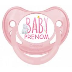 Tétine de bébé baby girl personnalisée