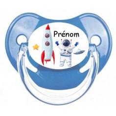 Tétine de bébé espace personnalisée