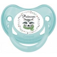 Tétine de bébé raton laveur personnalisée