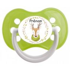 Tétine de bébé cerf personnalisée