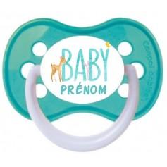 Tétine de bébé baby garçon personnalisée
