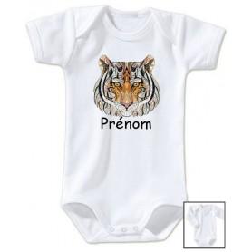 Body personnalisé prénom Lion tendance