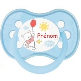 Tétine de bébé ourson ballon personnalisée