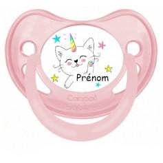 Tétine de bébé chat personnalisée
