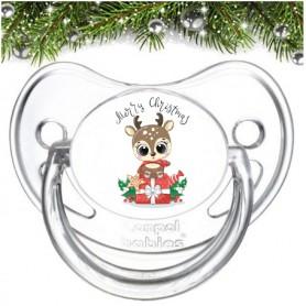 Tétine personnalisée Cadeaux Merry Christmas