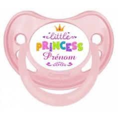 Tétine de bébé petite princesse personnalisée