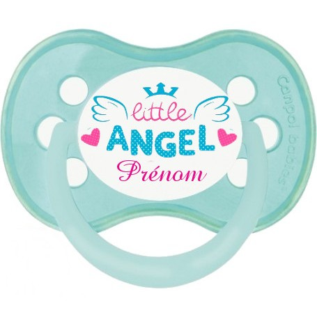 Tétine de bébé little angel personnalisée