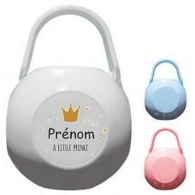 Boîte à tétine personnalisée little prince Prénom