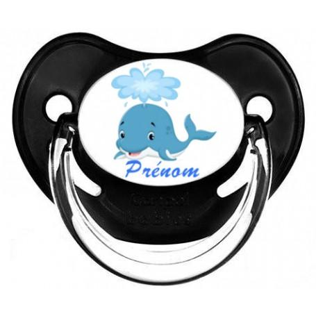 Tétine de bébé baleine personnalisée