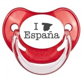 """Tétine bébé originale """"I love Espana"""""""