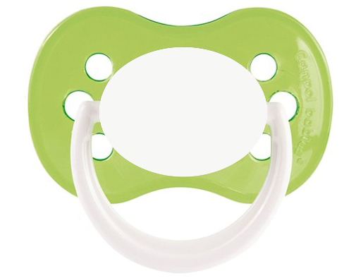 tetine bebe continent HAPPY vert cerise